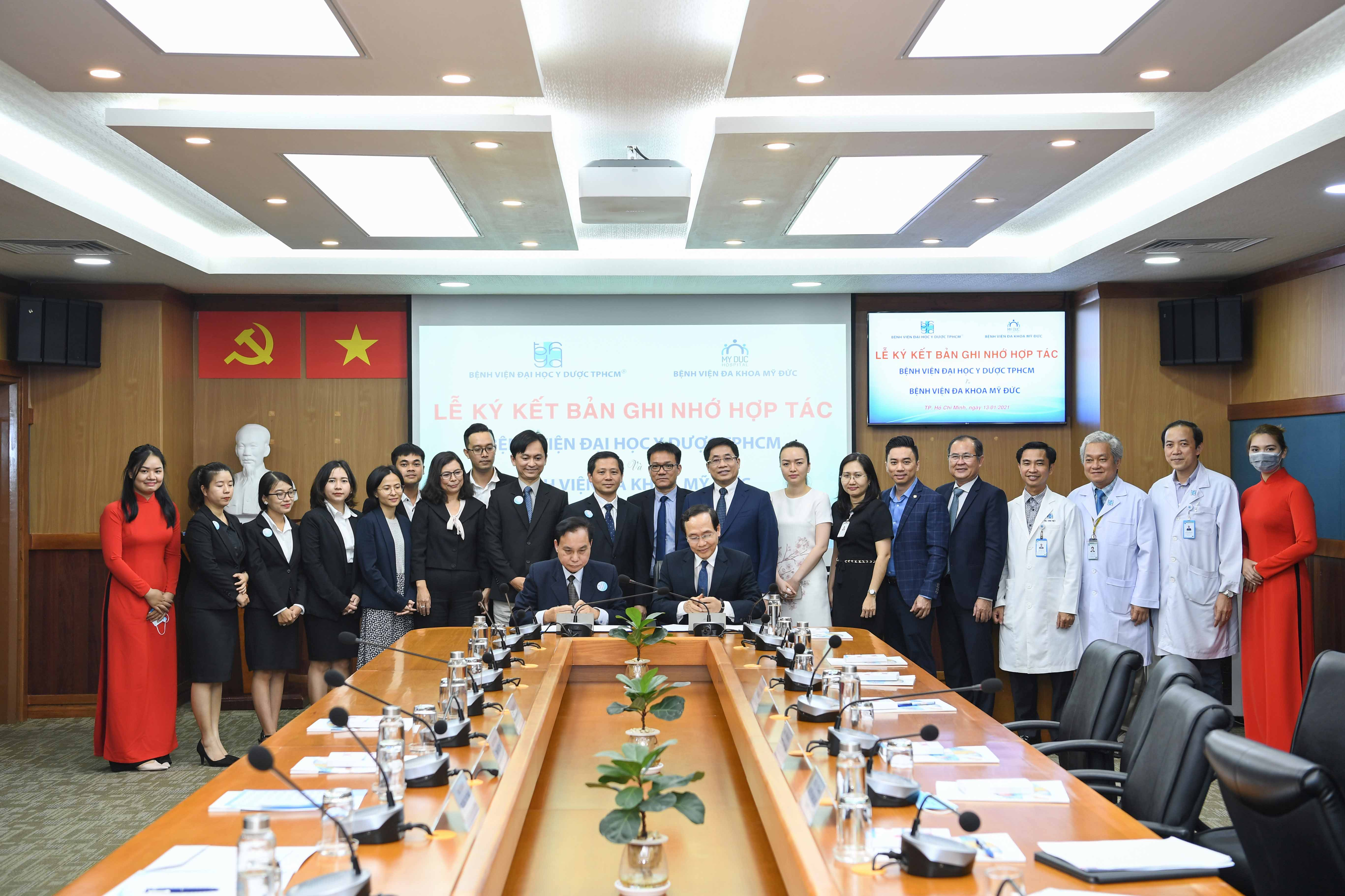 HOPE RESEARCH CENTER AND UNIVERSITY MEDICAL CENTER HO CHI MINH CITY SIGNED MOU FOR SCIENTIFIC RESEARCH COLLABORATION.